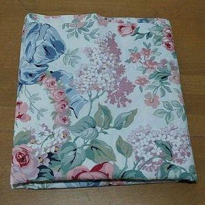 Ralph Lauren Allison Floral Twin Flat Sheet
